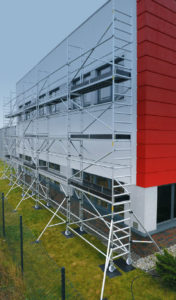 Rusztowania fasadowe